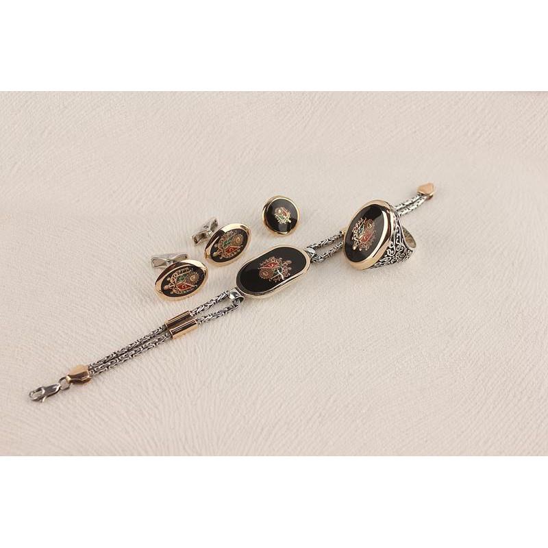 Osmanlı Devlet  Arması Erkek Set